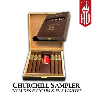 Alec Bradley Prensado Churchill Sampler with Lighter