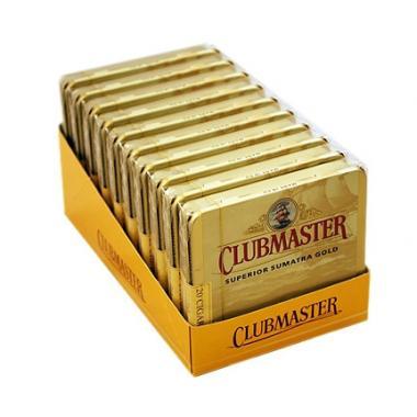 Clubmaster Superior Sumatra Gold Tins