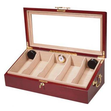 Angled Glass Top Humidor - HUM-DIS4