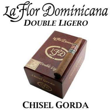 La Flor Dominicana Double Ligero Chisel Gorda Cigars