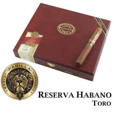 Padilla Reserva Habano Toro Cigars
