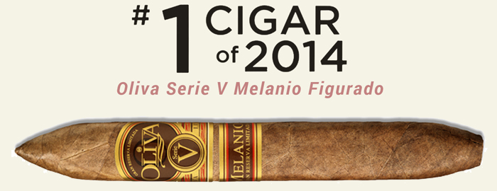 Oliva Serie V Melanio Figurado Number 1 Cigar of 2014